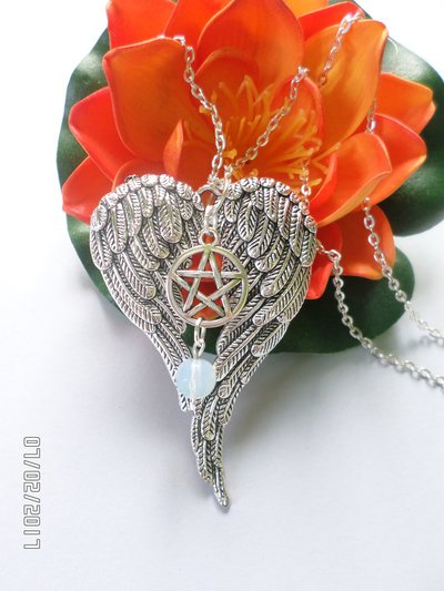 collana supernatural ali e pietre di luna