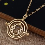 COLLANA CIONDOLO HARRY POTTER GIRATEMPO HERMIONE TIMETURNER SAGA TRIANGOLO