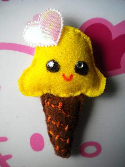Ice Cream Kawaii: Yellow Mellow!