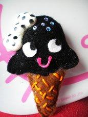 Ice Cream Kawaii: Black