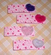 Bigliettini Collezione 'Fluffy Heart' per Segnaposto e Bomboniere - So Sweet^^