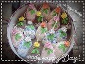 Ovetti segnaposto pasquali Uova di Pasqua