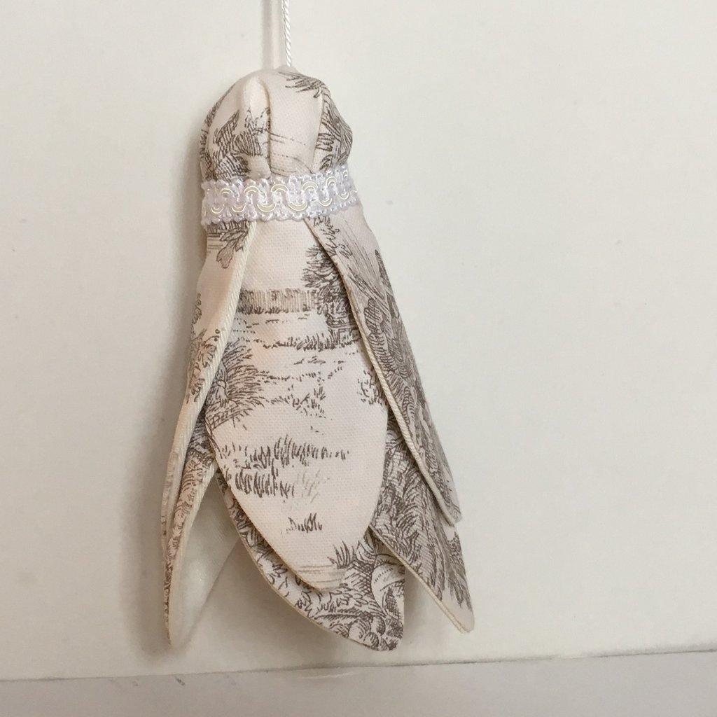 Nappa Toile de joui- decorazioni per chiavi-idea regalo shabby chic