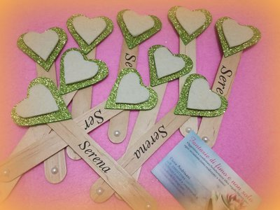 Segnalibri personalizzati per confettate
