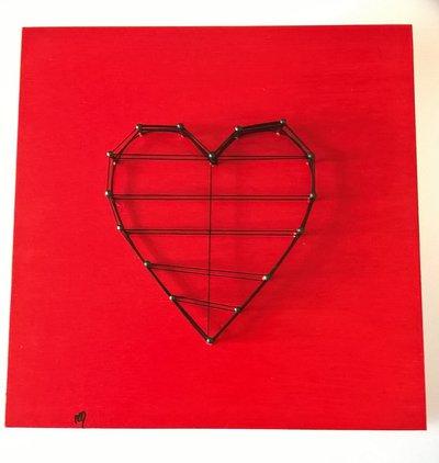 Quadro decorativo pannello cuore Amore non Corrisposto Unrequited Love