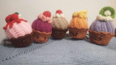 Portachiavi Muffin e frutti