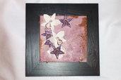 Pannello con orchidee rosa/fucsia