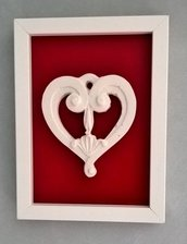 Quadretto decorativo decorazione cuore Imperfect Love