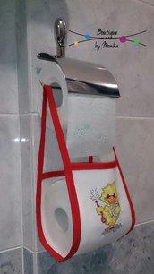Porta rotolo di carta igienica di scorta
