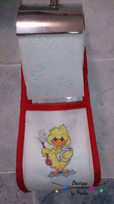 Porta rotolo di carta igienica di scorta per la casa e per te b su misshobby - Porta carta igienica design ...