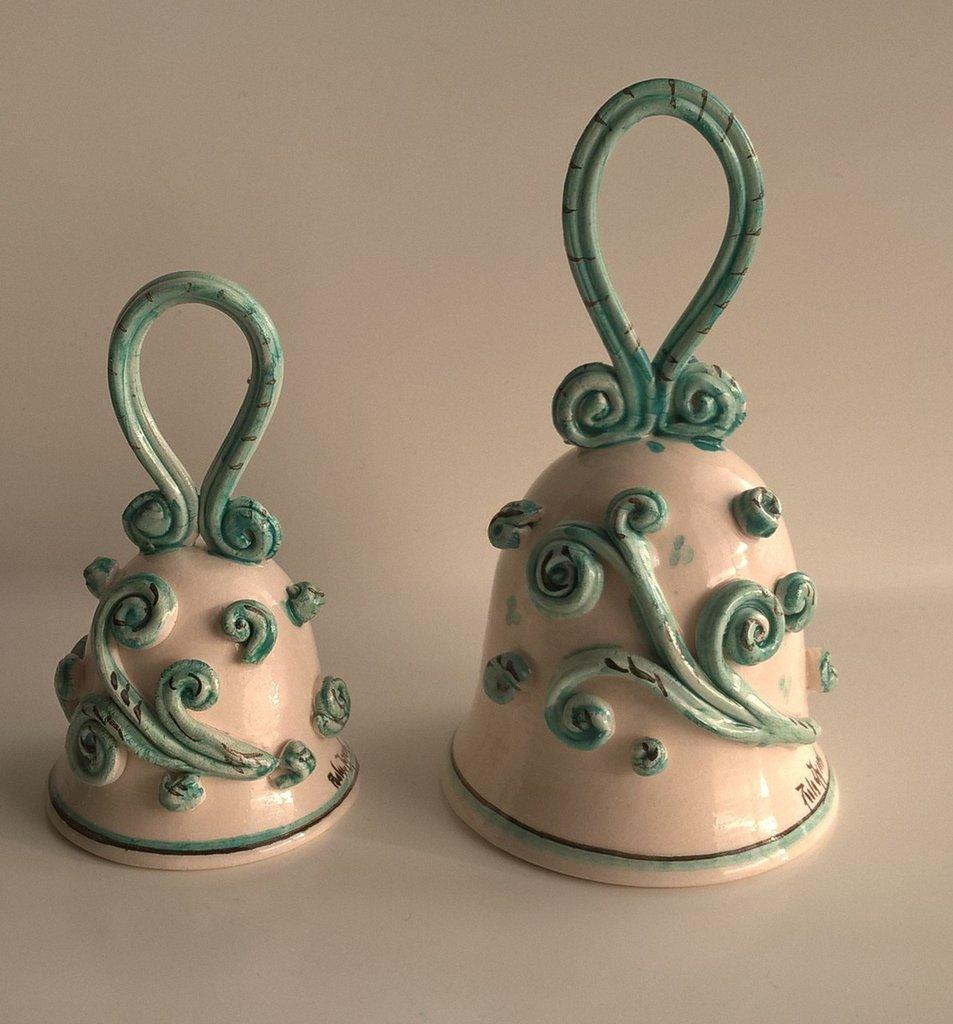 Campane in ceramica idea regalo decorazione casa