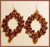 """"""" Superduo """" earrings"""