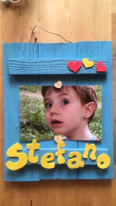 Portafoto in legno personalizzabile