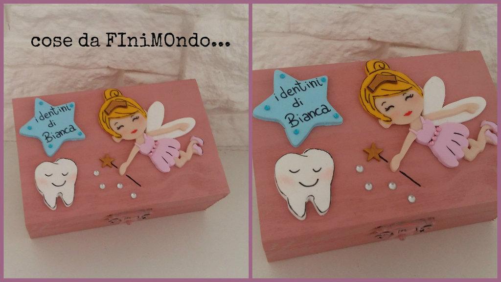 scatolina dei dentini da latte con fatina