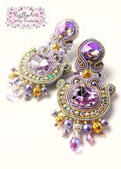 """Orecchini """"Precious Lavender"""""""