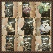 Anelli charms e pietre naturali