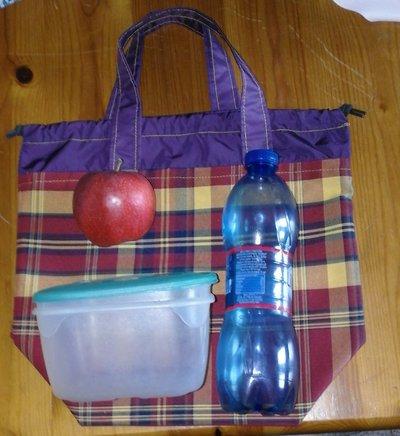 borsa porta pranzo lunch bag unisex