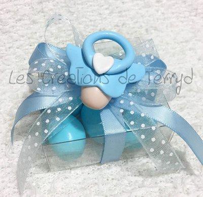 Bomboniera per nascita o battesimo con ciuccio