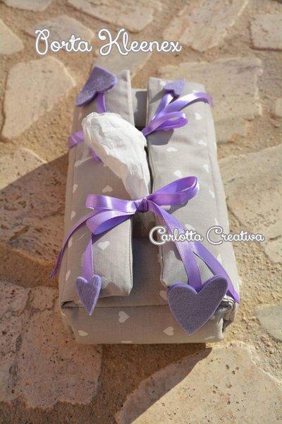 Porta Kleenex  / Porta fazzoletti