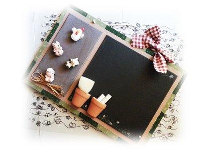 Riservata per la cucina di monica lavagna magnetica e gessetti p su misshobby - Lavagna magnetica per cucina ...