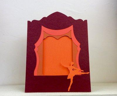 Portafoto collage ballerina