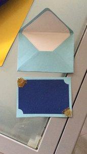 Biglietti di auguri in cartoncino di varie tonalità