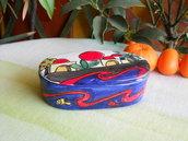 Scatola in ceramica. Bomboniere in ceramica. Le ceramiche di Ketty Messina.
