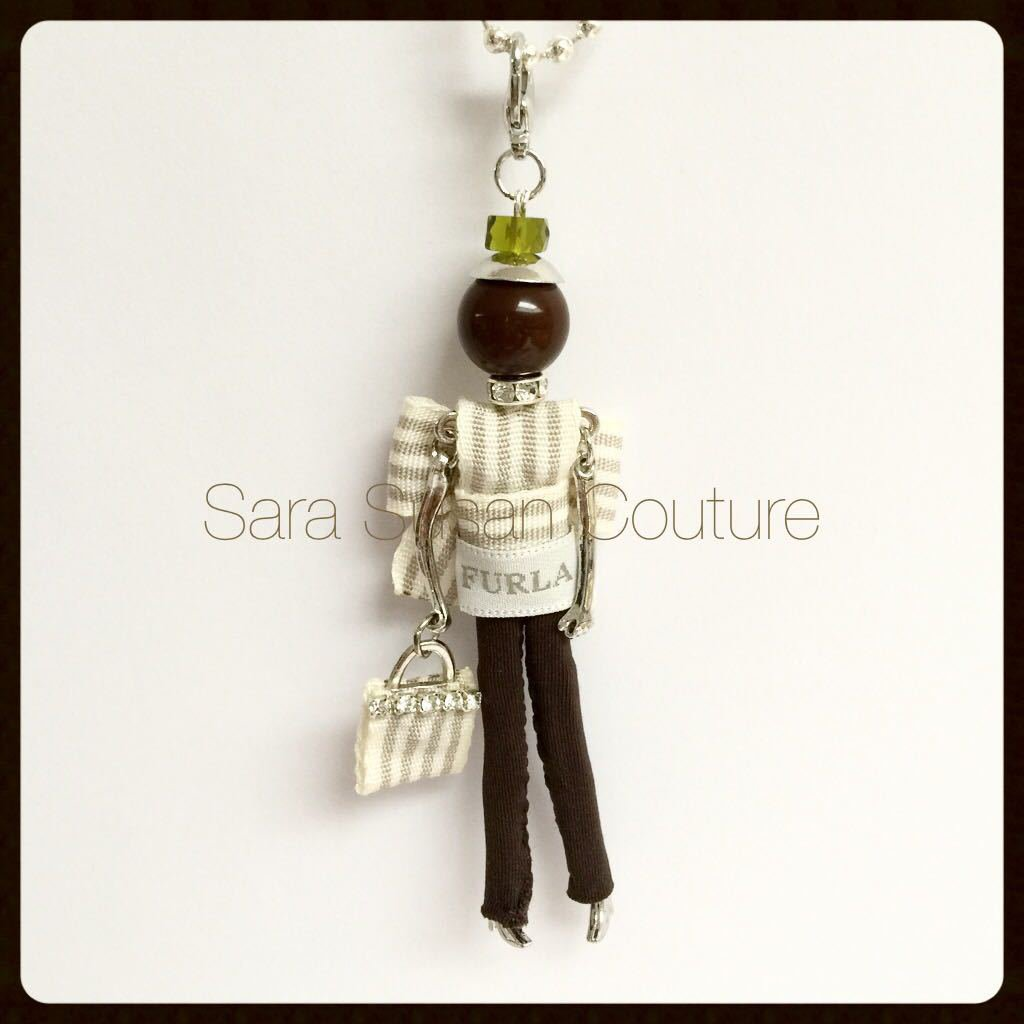 Collana bambolina – My Little Doll by Sara Susan Couture – Modello Furla Style – Kate