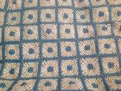 coperta  lettino in misto lana e pile