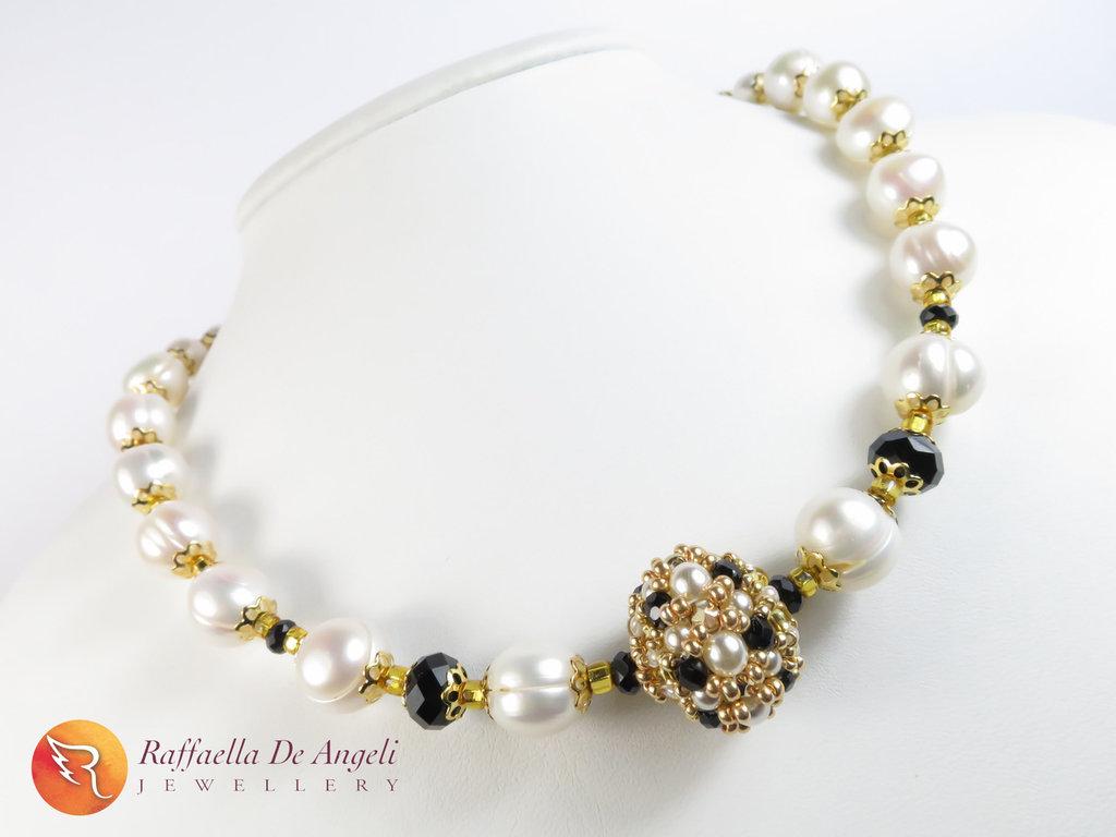 Collana perle oro murano Chiara 03