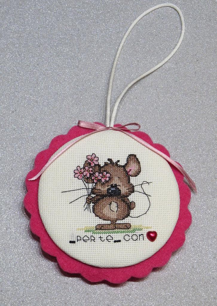 """Addobbo  con topolino """"Per te...con amore"""""""