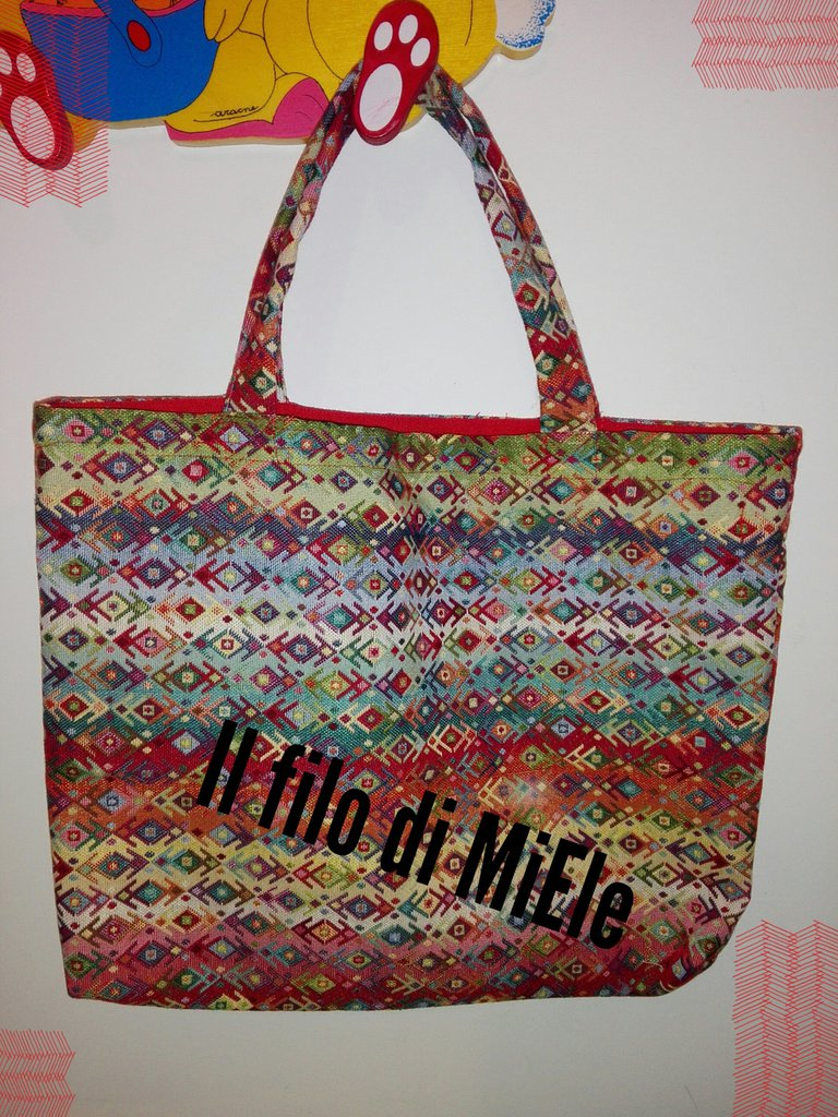 Borsa shopper  gobelin