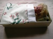 A bed linen for doll