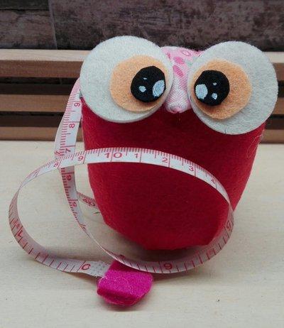 gufetto metro puntaspilli rosa