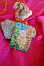 Ciondolo linea Eco-Yogica Krishna e Radha