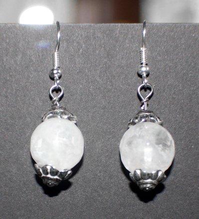 orecchini in cristallo di rocca