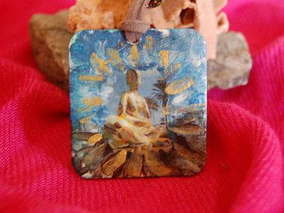 Ciondolo linea Eco-Yogica - Yoga Pose/Buddha