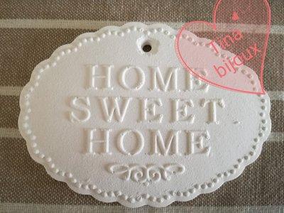 STAMPO TARGHETTA HOME SWEET HOME