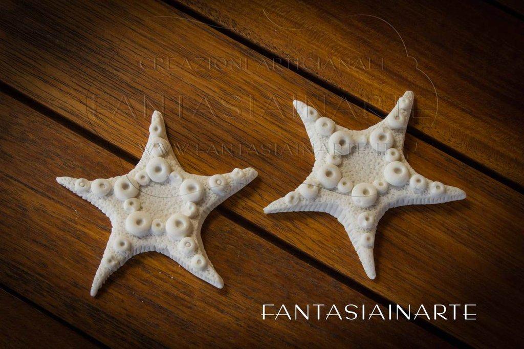 Bomboniera o Segnaposto Gessetto Stella Marina