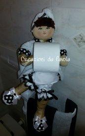 Bambola portarotolo vanessa