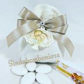 Sacchetti sacra famiglia albero della vita completi di confezione con confetti