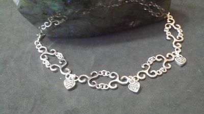 Bracciale tiskel e cuore celtico