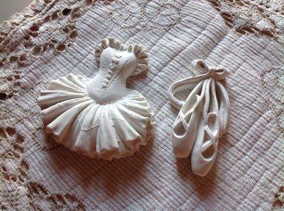 gesso ballerina + scarpette