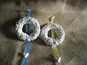 Gessetti per armadio a forma di ghirlanda di fiori