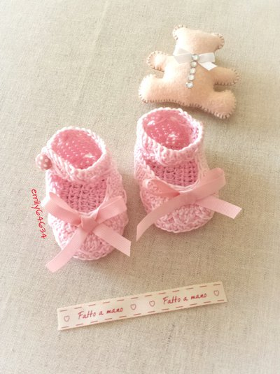 Scarpine da neonata