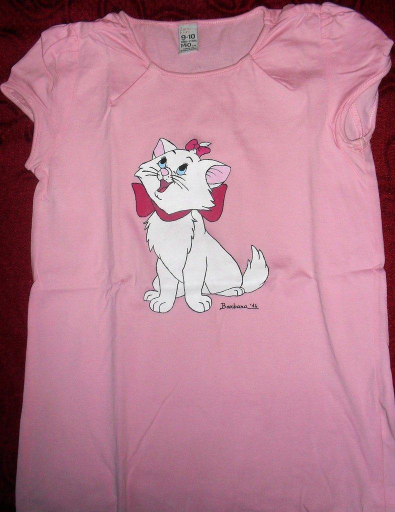 Maglietta a maniche corte rosa
