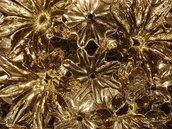 Ricambio per lampadario Esprit di Venini, stella ad 8 punte , in vetro soffiato di Murano