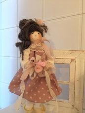 Deliziosa bambolina , ideale x tutte le occasioni cerimonia , idea regalo addobbo