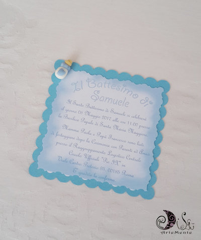 inserzione riservata set battesimo