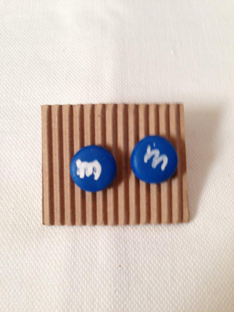 M'ms di colore blu